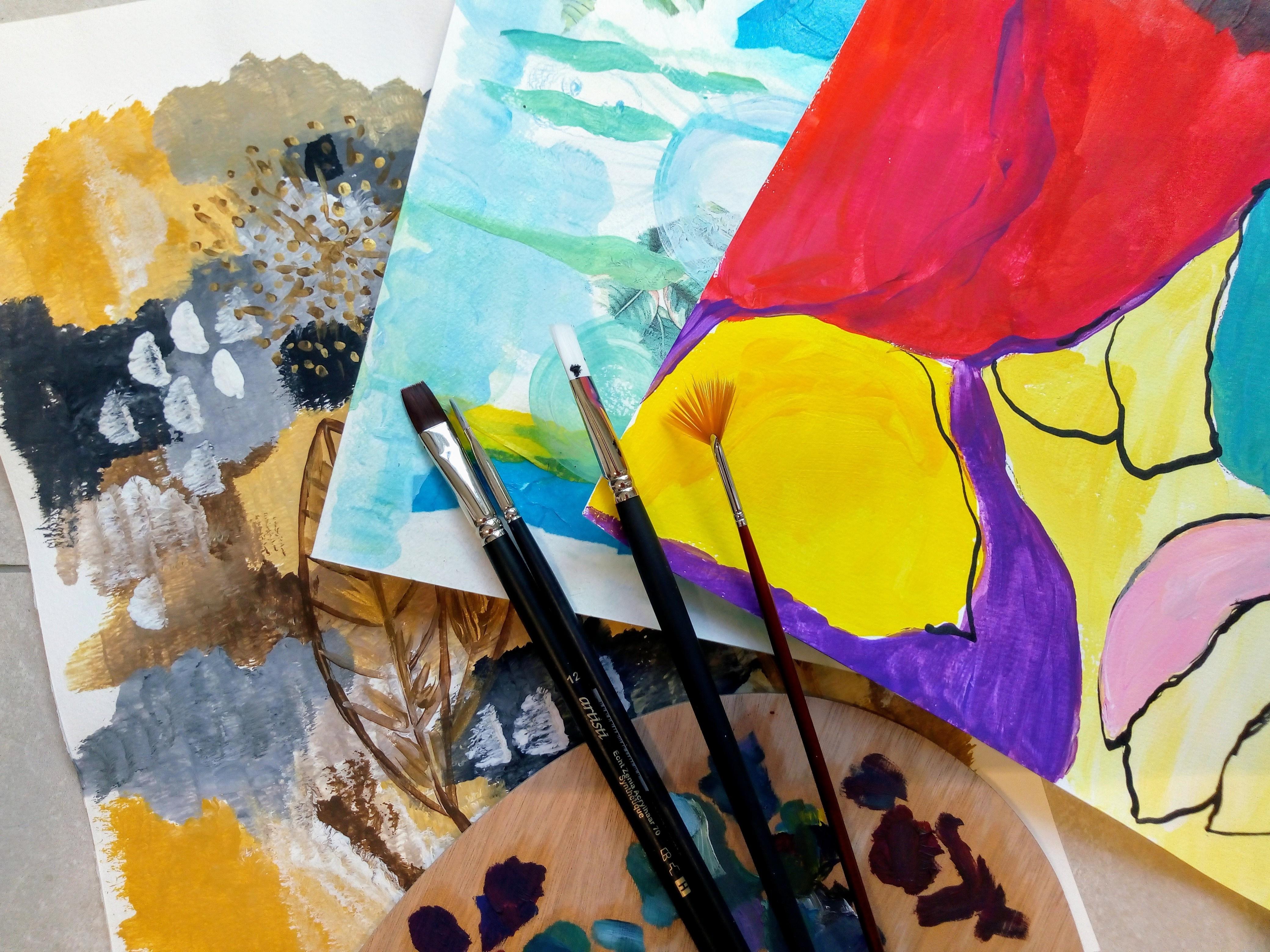 Kunsttherapie in der Begleitung bei Wiedereingliederung