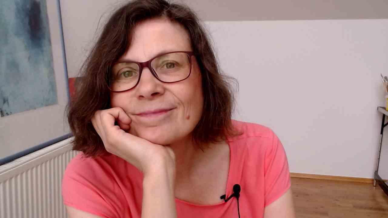 Kunsttherapeutin Maria Fahnemann